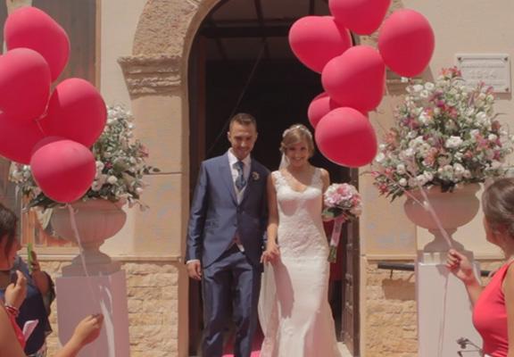 Videos de boda almería, aamaco producciones. Maria del mar y Jesus